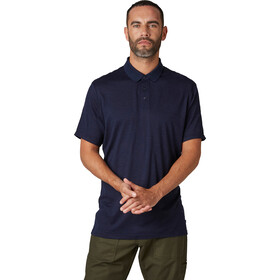 Helly Hansen HH Merino Light SS Polo Men navy